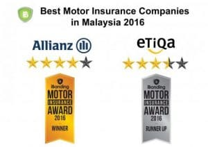 best motor insurance companies in Malaysia 2016
