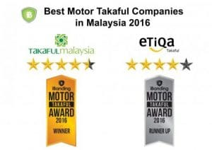 best motor takaful companies in Malaysia 2016