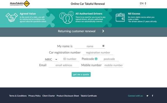 etiqa online car insurance renewal