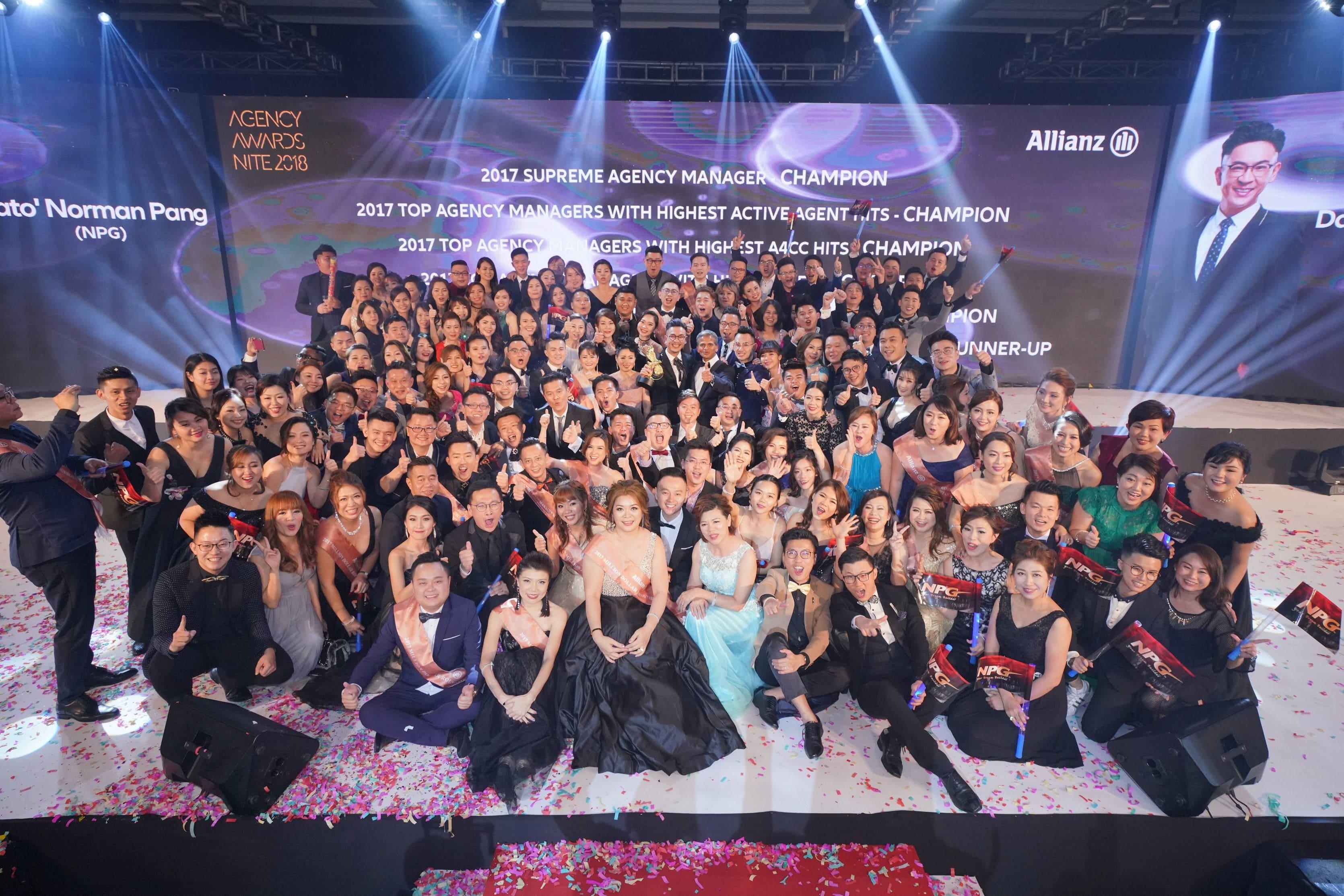 allianz agency award